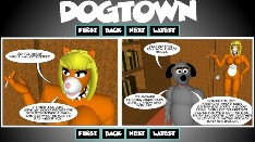 Dogtown webcomic - testing testing